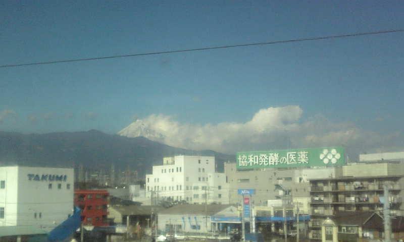 何となく富士山