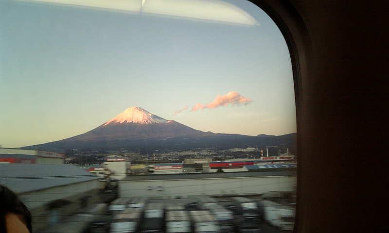 新幹線の車窓から2009
