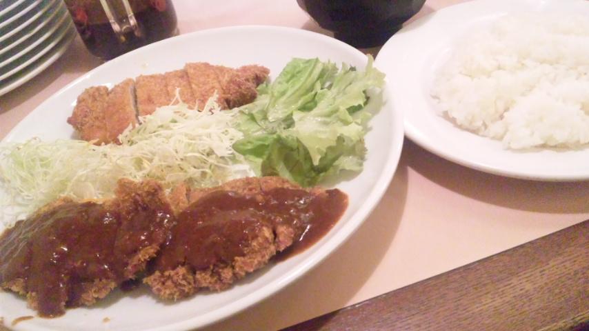 Wカツ定食